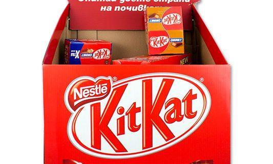 Kit Kat Display